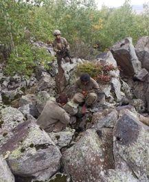 Askere kurşun sıktılar Asker ikna etti teslim oldular