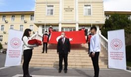 Ay yıldızlı Bayrak Kahramanmaraş'a ulaştı
