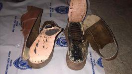 Ayakkabısının içine patlayıcı saklayan Suriyeli terörist yakalandı