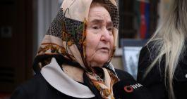 Azerbaycan Şehit annesi Şehit oğlumun ruhu şad oldu
