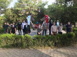 Azerbaycan'da şehitleri Eskişehir'de anıldı