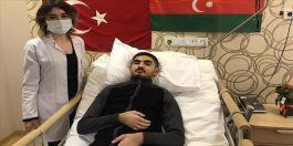 Azerbaycanlı  19 yaşındaki Gazi Kocaeli'nde tedavi oluyor