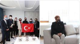Bakan 15 Temmuz Şehit ailesini ziyaret etti