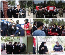 Bakan ilk Şehit ve Gazi faaliyetini, Ziyaretini yaptı(Video)