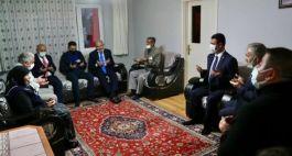 Bakan Soylu Şehit keleş'in ailesine ziyaret etti