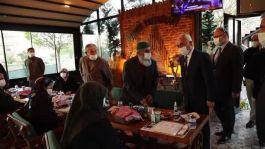 Bakan Yardımcısı Şehit aileleriyle iftar yaptı