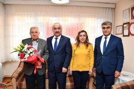 Bakan Yardımcısı Şehit yakını ve Gazileri ziyaret etti