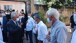 Bakan yardımcısı Sivil Şehit ailesini ziyaret etti