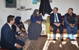 Bakan Yardımcısı'ndan Şehit Ailesine Ziyaret