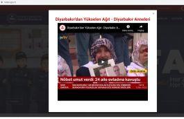 Bakanlık Terörist(Diyarbakır) annelerine 4 bin Resmi internet sitesinde destek verdi