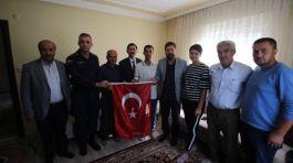 Barış Pınarı' gazisi baba ocağında