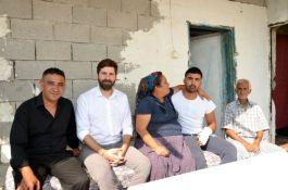 Barış Pınarı Harekatında yaralanan Tarsuslu askeri ziyaret etti