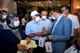 Başkan şehit ve gazi aileleriyle buluştu