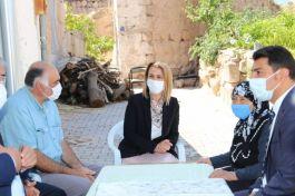 Bayan Vali Şehit Ailelerine ziyaretlere devam ediyor