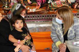 Bayan Vali Suriye Şehidinin Ailesini ziyaret etti