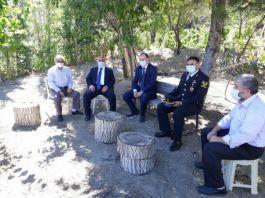 Bayat'ta Şehit aileleri ziyaret edildi
