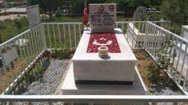 Bayram Öncesi Jandarma Şehitlerin Mezarlarını Onardı