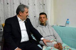 BBP Genel Başkanı Desteci,Suriye Gazisini ziyaret etti