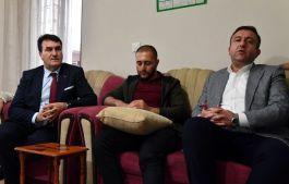 Belediye Başkanı Dündar, İdlib Gazisini ziyaret etti