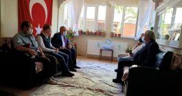 Belediye Başkanı Şahin Şehit ailelerini ziyaret etti