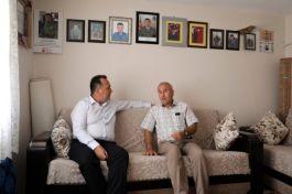 Belediye Başkanı Şehit Ailelerini Ziyaret etti