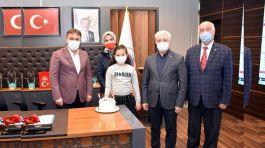 Belediye Başkanı Şehit kızının doğum gününü kutladı