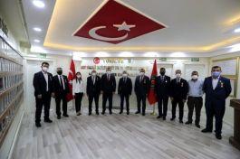 Belediye Başkanı Şehit ailelerini ve Gazileri ziyaret etti
