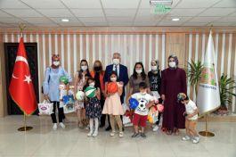 Belediye Başkanı Şehit aileleri ve çocuklarıyla bir araya geldi