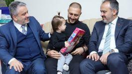 Belediye Başkanı'ndan Suriye İdlip Gazisine ziyaret