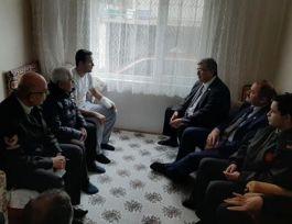 Belediye Başkanı'ndan Suriye Gazisine Ziyaret