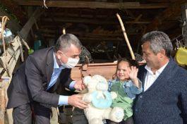 Belediye Başkanından Şehit kızına doğum günü sürprizi