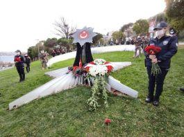 Beşiktaş'taki bombalı patlama Şehitleri 47 Şehit 4. yılında anıldı