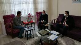 Beypazarı'nda Şehit Polis Ailesi ziyaret edildi