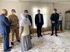 Bismil Kaymakamından Şehit ailelerine ziyaret