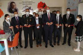 Bismil'de Şehit anısına yaptırılan kütüphane hizmete açıldı