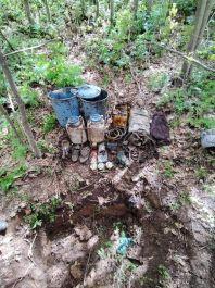 Bitlis te Pkk nın araziye gizlenmiş Malzemeleri ele geçirildi