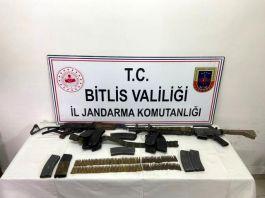 Bitlis'te Eren operasyonunda bir terörist öldürüldü
