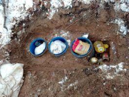 Bitlis'te 3 sığınak ve yaşam malzemeleri ele geçirildi