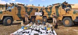 Bitlis'te 6 Pkk sığınağı bulundu