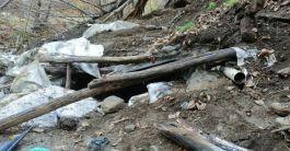 Bitlis'te Pkk  ya ait 2 odalı sığınak bulundu