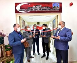 Bitlis'te Şehit ve Gazi Derneğinin yeni yeri törenle açıldı