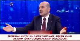 Bunların Türkiye düşmanlığı olduğu belli diyerek Kuytul'a tepki gösterdi