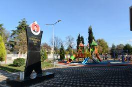 Bursa İnegöl'de Şehit adı verilen park açıldı
