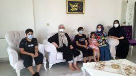 Büyükşehir Belediye'den Şehit ailelerine ziyaret