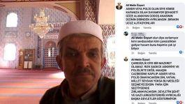 Cami İmamı 33 Şehit sonrası ahlaksız paylaşım yaptı serbest bırakıldı