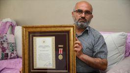 Cami İmamı Gazi sayıldı Devlet Övünç Madalyası verildi