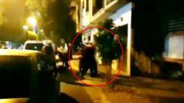 Camide Namaz Kılamayınca Polise saldırdılar