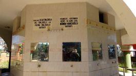 Camide Şehit adına yapılan çeşmenin musluklarını çaldılar