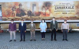 Çanakkale Mobil Müze Türkiye yolculuğuna başladı