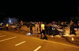Çanakkale'de kaza 1 polis memuru Şehit oldu